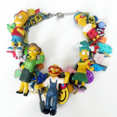 Bart Simpsons Family Necklace