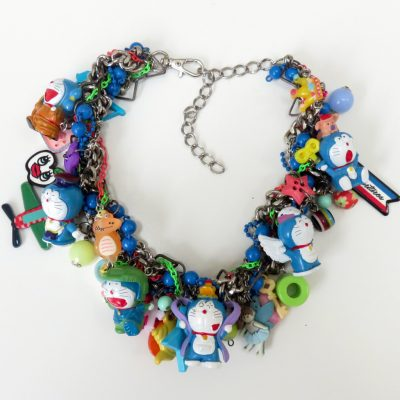 Blue Doraemon Anime Necklace
