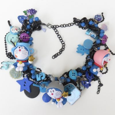 Doraemon Blue Cat Robot Necklace