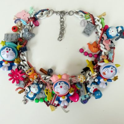 doraemon dorami japanese robotic cat necklace