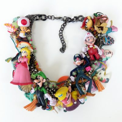 Super Mario Statement Necklace