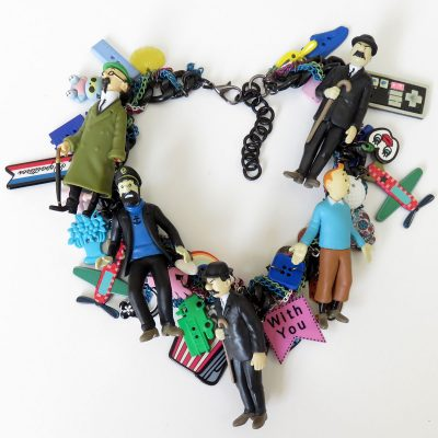 Tintin Charm Statement Necklace