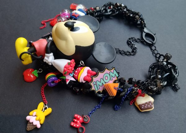 Kitsch Mickey Mouse Necklace